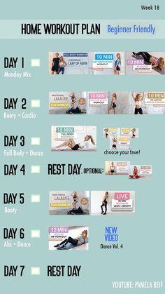 10 Min Ab Workout, Workout Warm Up, Fun Workouts, At Home Workouts, Weekly Workout Plans, At Home Workout Plan, Intense Workout Plan, 3d Home, Leap Of Faith