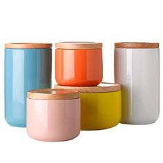 + kitchen canisters +