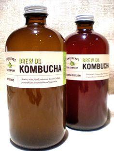 10 trendy foods you shouldn't ignore: Kombucha Light Recipes, Clean Recipes, Real Food Recipes, Healthy Recipes, Fermented Tea, Fermented Foods, Kombucha Brands, Probiotic Brands, Kombucha Mushroom