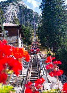 Información práctica para visitar Gelmerbahn en Suiza, cómo llegar, horarios, precios de los tickets y más. ¡Descubre el funicular más empinado de Europa!