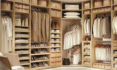 Contemporary Closet System from Studio Becker