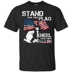 DD 214 T-shirts Soldier Stand For The Flag Kneel For The Fallen Hoodies Sweatshirts