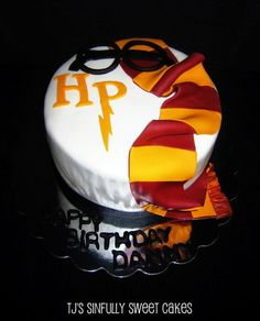 Harry Potter Birthday Cake  Cake by Tyla Mann