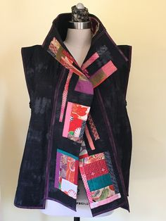 As I mentioned in my last post, I've been working on Heidi Emmett's Off The Grid Vest . In the beginning I was nervous because I'm not a ...