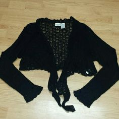 Will only sell in bundle! ! ! Pretty dainty short cardigan St John's Bay Sweaters Cardigans