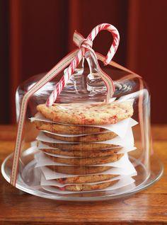 Biscuits aux cannes de bonbon - riche, mais très moelleux et délicieux!