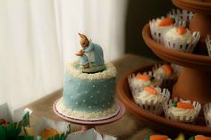 Peter Rabbit - what a great baby shower theme (especially around Easter!)