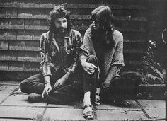 Cat Stevens and Carly Simon in London during the Recording of Anticipation, 1970