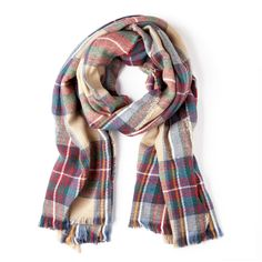 Fall must have: Plaid Scarf