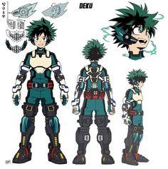 My Hero Academia Costume, My Hero Academia Memes, Hero Academia Characters, Buko No Hero Academia, My Hero Academia Manga, Anime Characters, Hero Manga, No Sew Cape, Deku Cosplay