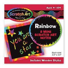 Melissa & Doug Rainbow Mini Scratch Art Notes Melissa & Doug https://www.amazon.com/dp/B005K0BAZO/ref=cm_sw_r_pi_dp_x_PUq-xbXX8X4W4