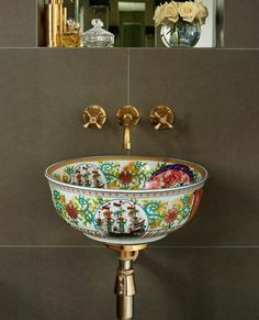 Tired of White Bathroom Basins? Try These Unique & Colourful Alternatives Tired of White Bathroom Basins? Try These Unique & Colourful Alternatives Bathroom Basin, White Bathroom, Bathroom Interior, Serene Bathroom, Copper Bathroom, Bathroom Accents, Eclectic Bathroom, Bathroom Modern, Simple Bathroom