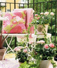Balkon Terrasse Gestaltung-landhausstil | Garten | Pinterest | Deko Garten Gestaltung Fruhling Sommer