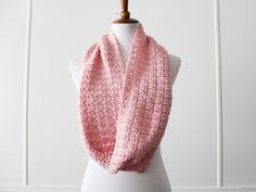 Want a project that works up in less than 4 hours? Maybe you need to use up that one skein of yarn? You will love this simple scarf pattern from YHN!