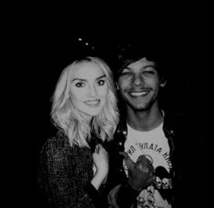 Perrie Edwards and Louis Tomlinson manip