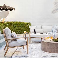 Just in time to soak up the sun. 🌞 Our exclusive Siena Collection is inspired by organic, easygoing mid-century modern Scandinavian design. Tap to shop & head to link in bio for the entire collection. Find Furniture, Outdoor Furniture Sets, Outdoor Decor, Guest Log, Siena, Furniture Collection, Scandinavian Design, Oasis, Mid-century Modern