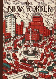 The New Yorker May 30, 1925  Cover Art - Ilonka Karasz