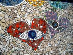 Mosaics with Recycled Materials