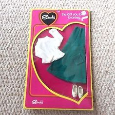 Sindy outfit Pretty Pinny early 70s NRFB MIB