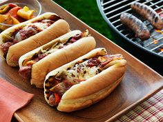 A New Tailgating Twist: Grilled Sausage and Pepper Gridiron Grinders