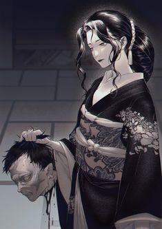 Muzan - Demon Slayer/Kimetsu no Yaiba Manga Art, Manga Anime, Anime Art, Demon Slayer, Slayer Anime, Era Taisho, Estilo Anime, Arte Horror, Animes Wallpapers