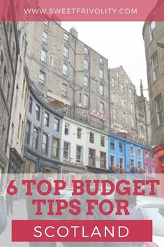 Trying to make a Scotland vacation work while on a budget? Here are 6 key tips to make your trip happen!  https://www.sweetfrivolity.com/single-post/2017/06/15/6-Essential-Budget-Tips-for-Planning-a-Scotland-Vacation  #scotland #vacation #traveltips