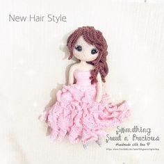 假发比较好看还是用钩的比较好看呢? Change the wefted hair to crocheted hair.... Which one looks better?(*^_^*) @ilovecrochet_nancy @katieyuenlj @poling0504