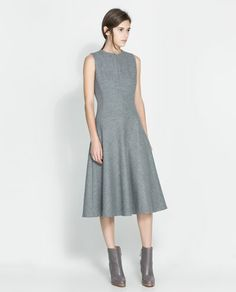 ZARA - WOMAN - WOOL DRESS