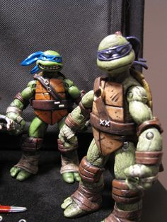 teenage mutant ninja turtles Leonardo & Donatello custom TMNT