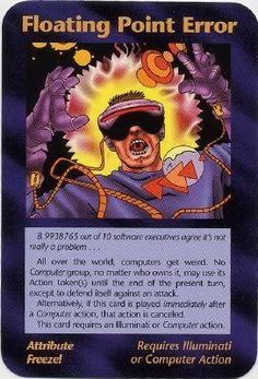 Here is a list of ALL Illuminati Cards. LIST KEY: Frequency: C - Common U - Uncommon R - Rare I - Illuminati S - Special Coloring: Jeff - Jeff Koke Rick - Rick Martin Derek - Derek… Illuminati Conspiracy, Red Scare, Morning Cartoon, Book Of Kells, Matrix, Tomorrow Will Be Better, Thrash Metal, New World Order, Wicked