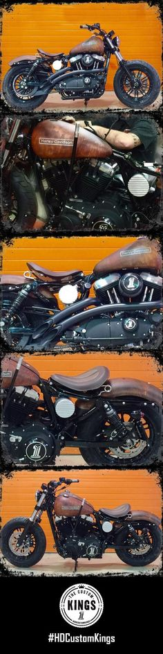 American Eagle Harley-Davidson/Buell built a bike you may dream about finding in a barn, except this is ready to start up and ride away. Bobber Motorcycle, Bobber Chopper, Cool Motorcycles, Vintage Motorcycles, Harley Davidson Buell, Harley Davidson Motorcycles, Custom Harleys, Custom Bikes, Harley Davison