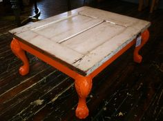 Sustainable Rescued Barn Door Coffee Table Reclaimed Wood Furniture on Etsy, $489.13 CAD