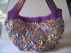 cool Ideas for pop tabs  http://make-handmade.com/2011/07/16/recycle-soda-tabs-crochet-ideas/