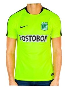 Camiseta Nike M C Entrenamiento Verde Atlético Nacional 2016 f97786b643bde