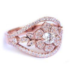 Audacious White Diamond Set 2.38 Ct Princess Diamond Black Sterling Silver Ring Handmade! Fine Rings Exquisite Traditional Embroidery Art