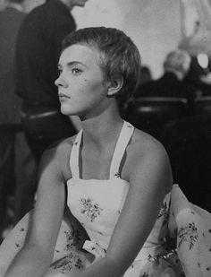 Jean Seberg inBonjour Tristesse, 1958.