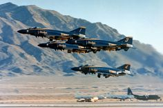 F4 Phantom. 70's US Navy Blue Angels.