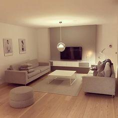 Mais uma ideia para quem gosta de decoração clean ✨🛋 #morandosozinha via @designsnella