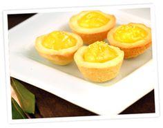 Gluten Free Mini Lemon Curd Tarts