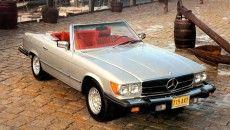 Mercedes-Benz 450 SL (R 107, 1971 to 1989), US version, model year 1979
