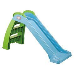 Step2 Big Folding Slide Pink Plastic Slide and HighSide Rails