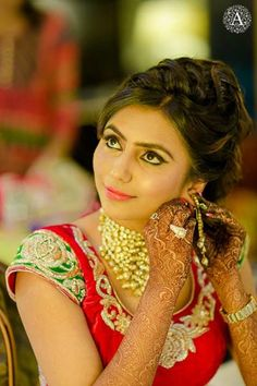 Getting ready shot  | Beautiful | Weddingplz | Wedding | Bride | Groom | love | Fashion | IndianWedding  | Beautiful | Style