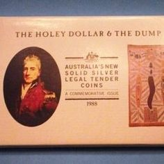 A Two Coin Combination, the Holey Dollar