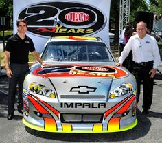 Celebrating 20 years with Jeff Gordon, DuPont and Hendrick Motorsports; this paint scheme was run at Homestead and celebrated the weekend with a trip to victory lane.