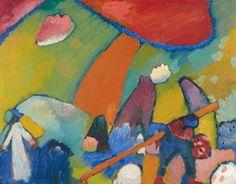 Wassily Kandinsky. Beach Scene, 1909
