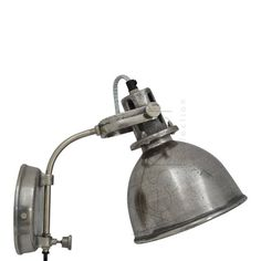 Vesper Collection - Wandlamp - Petra - Rough nickel