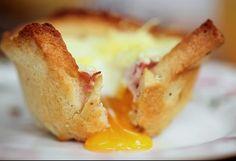 Kulinarne inspiracje Rachel Khoo: Croque Madame Muffins