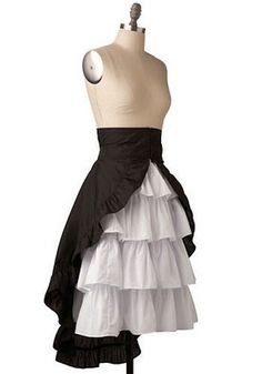 If i cant buy this, i will make it! Calypso Skirt. breakfastanthropologieblogspot.com #steampunk