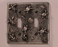 Sea Turtle Double Switch Plate