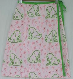 #VESTED-GENTRESS SIGNATURE-PRINT-DOG-PUPPY-MEETS-FROG-PINK-FLOWERS-GREEN-FUN-VTGVESTED-GENTRESS-SIGNATURE-PRINT-DOG-PUPPY-MEETS-FROG-PINK-FLOWERS-GREEN-FUN-VTG